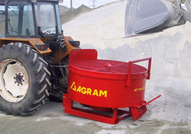 Betonniere tracteur agram