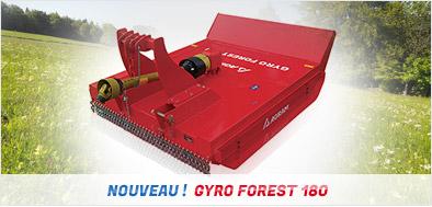 Nouveau matériel : Gyro débroussaileur forestier