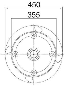 Rotor broyeur forestier Agram