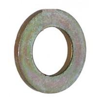 Rondelle plate 1 1/4 ''Zinc plaqué lourd