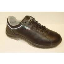 Chaussure de sécurité NORME S3 - Taille 44 - CUIR/Basse - Anti-perforation, Imperméable
