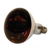 Lampe Kerbl IR 150W rouge, verre de sécu