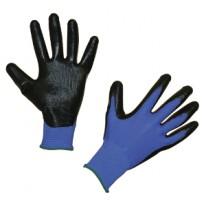 Gants de mécanique Nytec noir/bleu Taille 10