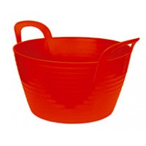 Seau flexible Flexbag 12 l, rouge