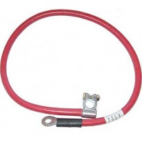 Câble de batterie de 900mm Positif 50mm - Rouge