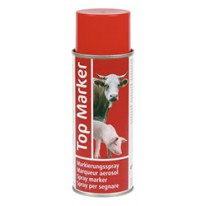 Spray de marquage TopMarker 500 ml rouge