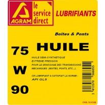 HUILE TDL 75W90 5 Litres