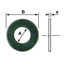 RONDELLE PLATE LARGE ZN 12MM (PAR 10)
