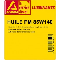 Huile PM 85W140 60L