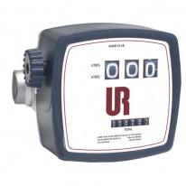 Compteur mécanique de gazole à 3 chiffres - Débit de 20 à 120 l/min