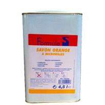 Savon orange à microbilles bidon 4,5L