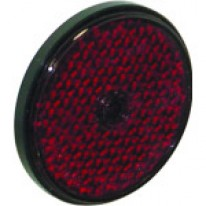 CATADIOPTRE ROND ROUGE D.60mm