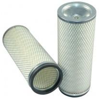 Filtre à air sécurité pour chargeur KOMATSU WA 100-1 moteur KOMATSU