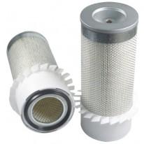 Filtre à air primaire pour tractopelle JCB 3 CX moteur PERKINS 306001->314999 LH 50133/50226