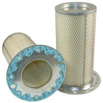 Filtre à air sécurité pour chargeur CATERPILLAR IT 28 moteur CATERPILLAR