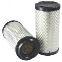 Filtre à air primaire pour tractopelle BOBCAT B 250 B moteur KUBOTA 11001-> 5279 TIER II