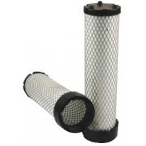 Filtre à air sécurité pour tractopelle CASE-POCLAIN 590 SR 2/3 moteur CNH 2008->