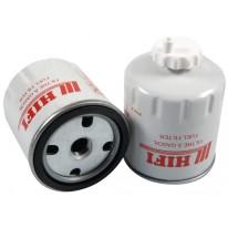 Filtre à gasoil pour tractopelle BOBCAT B 250 B moteur KUBOTA 11001-> 5279 TIER II
