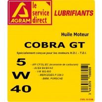 Huile COBRA GT 5L