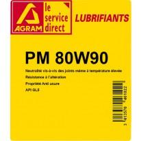 Huile PM 80W90 60L