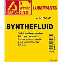 Huile SYNTHE FLUIDE 46 30L