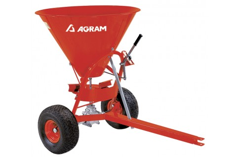 Distributeur engrais et sel pour micro tracteur