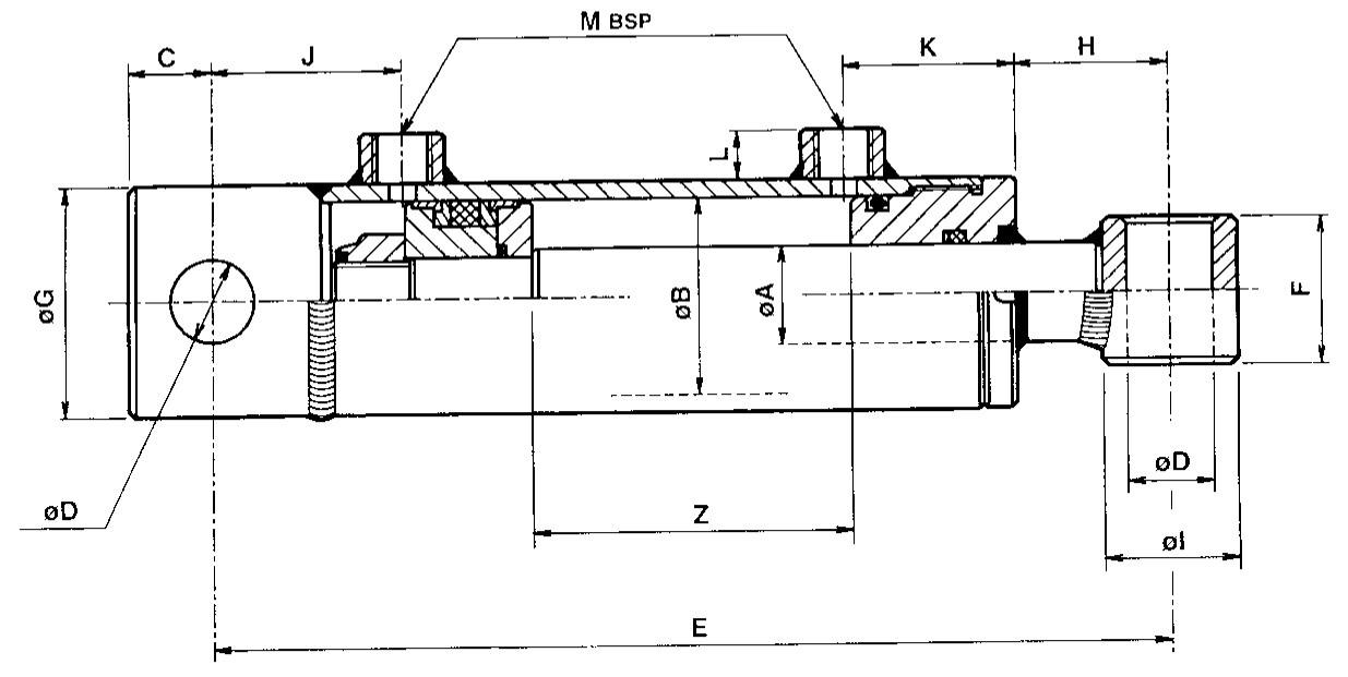 Schéma pneumatique simple