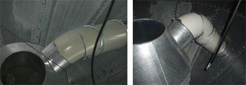 Options cône ventilation céréales