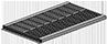 Module de ventilation 18 grilles