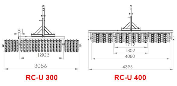 Plans rouleaux AGRAM RC-U
