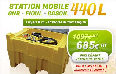 Promo station fioul 440L