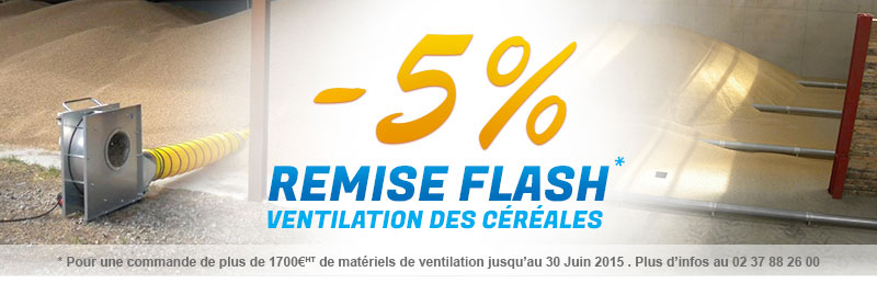 -5% pour une comande de matériels de ventilation supéreirure à 1700€HT