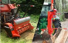 Matériels forestiers