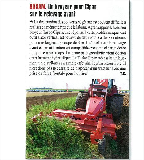 Le broyeur Turbo Cipan sur Matériel Agricole