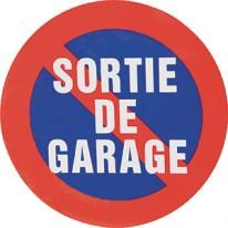 "PANNEAU ""SORTIE DE GARAGE"" DIAMETRE 195"