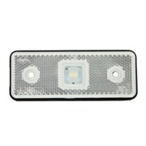 CATADIOPTRE RECTANGULAIRE BLANC 110X41 A LED