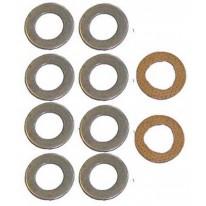 Kit de Wobble Anti MF 165 590 8 Steel 2 disques de laiton