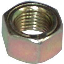 Écrou 3/8 ''UNF Hexagon Zinc & Jaune