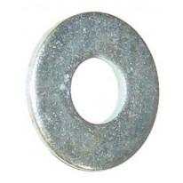 Rondelle plate Zinc lourd  3/8 '& Jaune