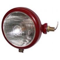 Tête de lampe rouge RH c / w Logo objectif Tracteur