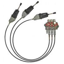 Kit de montage Bloc de vanne, câble et poignée 2,0 m