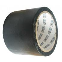 Bande d'Ensilage Noir PVC 75mm x 20m