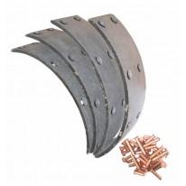 Garniture de frein Longueur 8 1/2 pouces Largeur 8 1/2 pouces David Brown 770 880 950