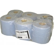 Lot de 6 rouleaux de papier essuie-mains