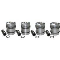 Kit piston 290 690 à 4 segments de piston