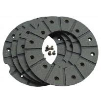 garnitures de frein leyland fordson major rivets. Black Bedroom Furniture Sets. Home Design Ideas