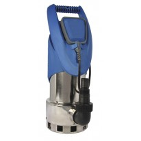 POMPE VIDE CAVE MONOPHASE  EN INOX POUR EAUX CHARGEES 0,75 KW