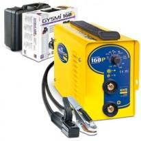 Poste soudure INVERTER à l'arc PROFESSIONNEL (160 Amp / 230V) - GYSMI 161 + étui 110 électrodes