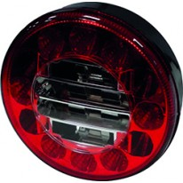 FEU LED 2 FONCTIONS ROND 122 EA45 10/30V