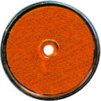 CATADIOPTRE ROND ORANGE D.60mm